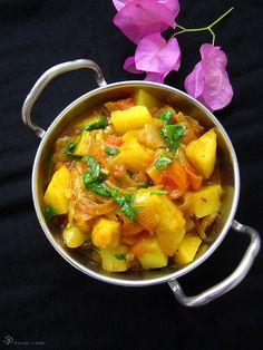 Aloo tamatar (zemiaky s paradajkami)