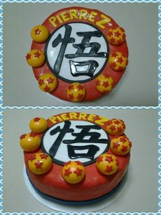 Dragon Ball Z cake by Mil Formas Mil Colores.