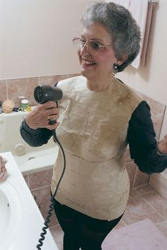 DIY Dress form. Clever!! Better than Duct tape!