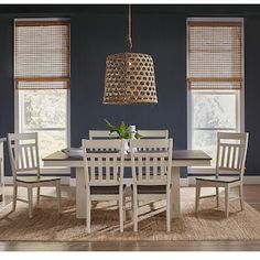 White Dining Room Table, Dinning Room Sets, 7 Piece Dining Set, Table And Chairs, Dining Chairs, Nebraska Furniture Mart, First Home, Oysters, Outdoor Furniture Sets