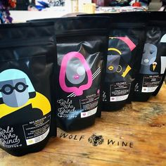 #Repost @wolf_wine  Were all stocked with the coffee from @girlswhogrindcoffee Supporting women in the coffee industry  #coffee - - - - #girlswhogrindcoffee #GWGC #gwgcoffee #womenincoffee #specialtycoffee #smallbatch #coffeeaddict #illustration #design #indie #coffeeroastery #coffeeroasters #coffee #coffeebeans #coffeetime #localroaster #women # #rare #smallbatch #handmade #craftwine #vegan #wineshop #bathcity #local #independent #wolfwine