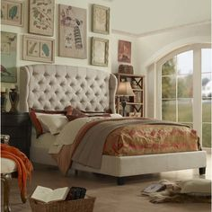 Features:  -Performance finish for stain resistance.  -Fill: Polyurethane fire resistant foam.  -Exposed solidwood block footboard, with wood feet applied with handcrafted espresso finish.  Hardware F