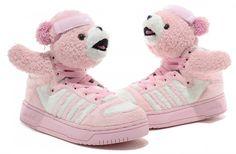 eb822105ed29 The most popular Adidas Jeremy Scott Shoes on sale Jeremy Scott Teddy Bear  Pink Jeremy Scott
