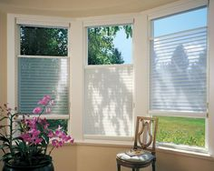 Silhouette® window shadings with EasyRise™ cord loop