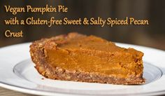 YUM! Made this for Thanksgiving and it was spectacular. Gluten free nut based crust was the best part!
