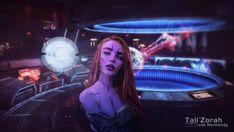 ArtStation - Tali'Zorah vas Normandy, Vasyl Khutorianskyi Fantasy Art Women, Sci Fi Fantasy, Tali Mass Effect, N7 Armor, Idf Women, Mass Effect Universe, Sci Fi News, Critical Role Fan Art, Normandy