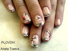 flowers - Nail Art Gallery by NAILS Magazine