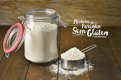 Como fazer mistura de farinha sem glúten