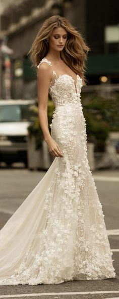 Wedding Dress by Berta Bridal Fall 2017 - Belle The Magazine