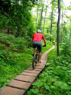 The Adventure Blog: Pure Michigan: Mountain Biking on the Upper Peninsula http://theadventureblog.blogspot.com/2014/07/pure-michigan-mountain-biking-on-upper.html