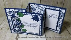 Hello Friends It's time to shine the spotlight to Frenchie's Team. This month I challenge them to make a fun or fancy fold card. WOW ...