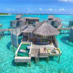 70 best honeymoon destinations in 2019 - Travel✈️ . - 70 best honeymoon destinations in 2019 – Travel✈️ - Best Honeymoon Destinations, Vacation Places, Dream Vacations, Places To Travel, Maldives Honeymoon, Maldives Travel, Maldives Resort, The Maldives, Maldives Wedding