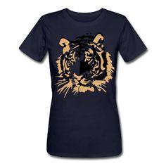 Tiger Head Vector Women's T-Shirts