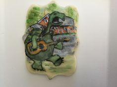 Cookies, Painting, Biscuits, Painting Art, Paintings, Paint, Cookie Recipes, Draw, Cookie