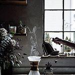 chemex + earl grey waffles by Beth Kirby | {local milk}