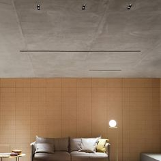 Built-in lighting profile for downlights BLACK LINE by FLOS
