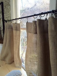 9 Easy And Cheap Cool Tips: Classic Kitchen Curtains bedroom curtains floral.Curtains And Blinds Burlap kids curtains french doors. Drop Cloth Curtains, Burlap Curtains, Rod Pocket Curtains, Drapes Curtains, Bedroom Curtains, Green Curtains, Velvet Curtains, Bohemian Curtains, Patterned Curtains