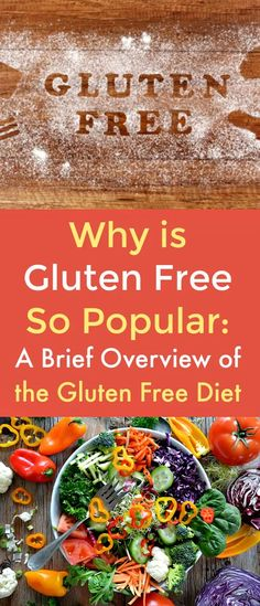 Why is Gluten Free So Popular: A Brief Overview of the Gluten Free Diet - Gluten is a protein that's found in barley, wheat, triticale, and rye. Many foods contain gluten, such as bread, pasta, beer, cake, cookies, cereals, crackers, and pastries.  There are many reasons why the gluten-free diet is popular for non-celiac suffers. Check out this guide to learn why so many people are going gluten-free. #gluten-freediet  #goinggluten-free  #gluten-free  #celiac