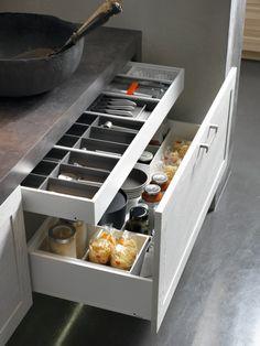 Sprytne sposoby na przechowywanie w kuchni  - zdjęcie numer 3