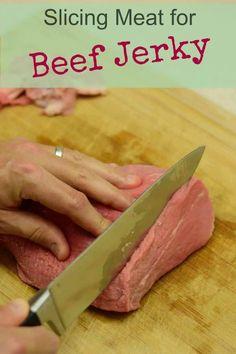 Making Beef Jerky, Homemade Beef Jerky, Keto Beef Jerky Recipe, Best Meat For Jerky, Dehydrator Recipes Jerky, Beef Jerky Marinade, Smoked Beef Jerky, Food Dehydrator, Gastronomia