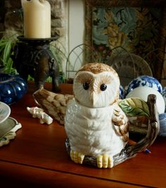 Owl teapot - pic only.