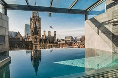 Rooftop Pool in Manchester - King Street Townhouse