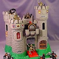 33 childhood toys that are now fortune... this castle, the Mighty Max toys, the flipping Power Rangers, the Hotshot basketball, and Tech Decks are SO vivid in my memory!  I loved those mini skateboards, and I never had that lego ship, but I had a ton of legos too.