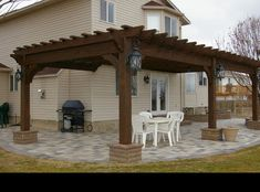 Pergola Attached To House Pergolas And How To Build On