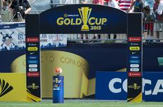 What are the Gold Cup 2017 groups?