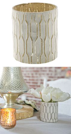 Indulge in a little bit of decadence and heighten the celebratory atmosphere of a favorite space. These Village Votive Holders are just the right touch of refined elegance with a dash of natural appeal...  Find the Village Votive Holder - Set of 2, as seen in the Bohemian Summer Solstice Collection at http://dotandbo.com/collections/bohemian-summer-solstice?utm_source=pinterest&utm_medium=organic&db_sku=115827