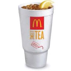 unsweetened McDonald's  iced tea is the best!