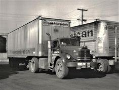 Millions of Semi Trucks Antique Trucks, Vintage Trucks, Old Trucks, Freight Transport, Detroit Area, Classic Trucks, Semi Trucks, Cummins, Tractors