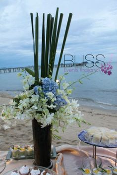 Blue Party on the Beach! Event Organiser, Event Organization, Blue Party, Koh Samui, Event Management, Phuket, Corporate Events, Wedding Planner, Thailand