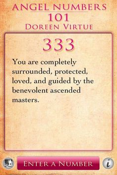Numerology: Angel Number 333 Meaning (Doreen Virtue) | #numerology #angelnumbers