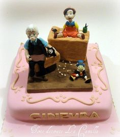 Pinocchio - Cake by Torte decorate La Camilla