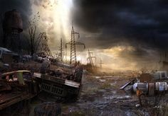 Life After the Apocalypse (2) by Vladimir Manyuhin