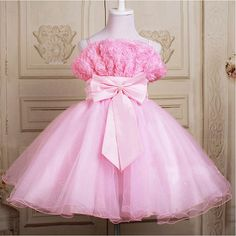12345678910t Flower girl dress baby clothes pink by babygirldress, $60.00