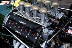 1967 Ford-Cosworth V-8 Formula 1 - from the Cahier Archive via Motorsport Retro