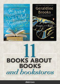 11 Books About Books and Bookstores
