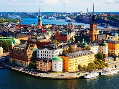 I'm moving here someday, if only for a year. #sweden #stockholm