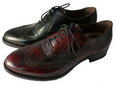 Italian leather laced shoes for ladies, by Nero Giardini