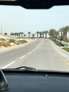Indo ao Mar Morto, em Jerusalém