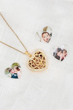 This locket is the perfect anniversary gift idea or sentimental gift idea. The Mary also makes for a unique wedding gift idea for a best friend. Victoria Kay, Heart Locket Necklace, Unique Wedding Gifts, Photo Heart, Or Rose, Rose Gold, Sentimental Gifts, White Topaz, Anniversary Gifts