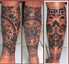 tattoo maori - Pesquisa Google Filipino Tattoos, Polynesian Tattoos, Tattoo Designs, Tattoo Ideas, Tatting, Hoa, Gourmet, Tatoo, Mens Tattoos