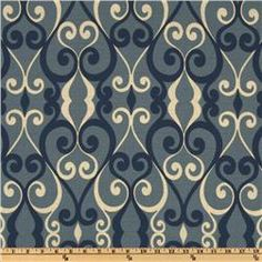 Swavelle/Mill Creek Chichester Atlantic Blue  Item Number: UL-258  Our Price: $19.98 per Yard