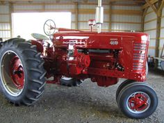 Farmall                Ours has always been shedded.  sll