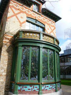 Art Nouveau - Maison familiale (détail véranda) - Louis Vuitton