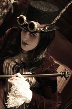 women's steampunk | Neo-victorian woman Steampunk woman