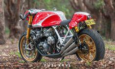 Hear Me Raw: Honda CBX1000 Café Racer — Fuel Tank