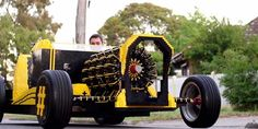 Life sized Lego car powered by air. Life sized Lego car powered by air. Lego Engineering, Scientific Inventions, Save Mother Earth, Foam Armor, Green Companies, E Mc2, Car Makes, Lego Pieces, Cool Lego